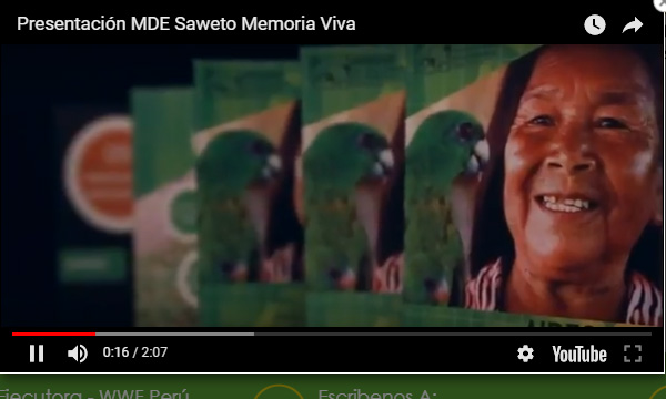 Presentación MDE Saweto Memoria Viva